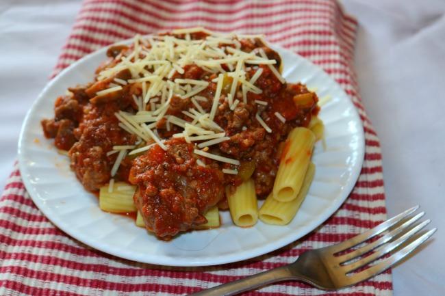 Homemade Spaghetti sauce gluten free