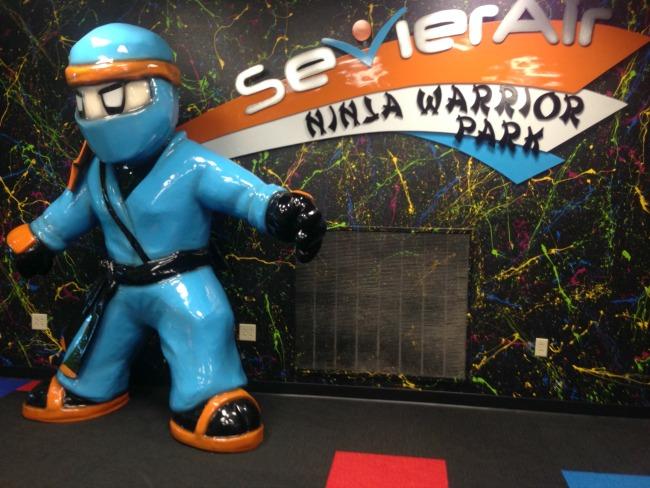 Sevier Air Ninja Warrior Park