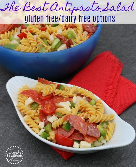 The Best Antipasto Salad Recipe Gluten Free