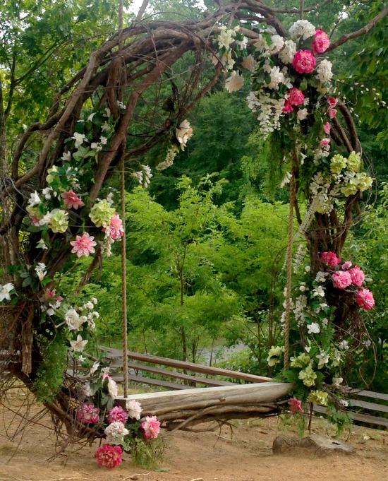 The Outdoor Wedding Venue.