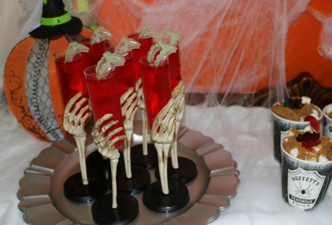 Bloody Vampire Shot Mocktails