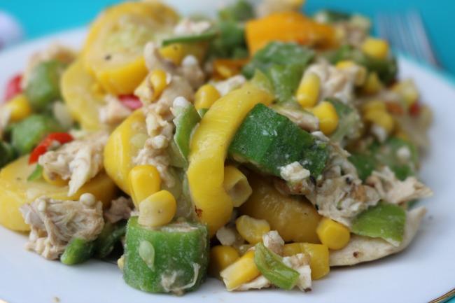 Chicken Succotash Skillet recipe