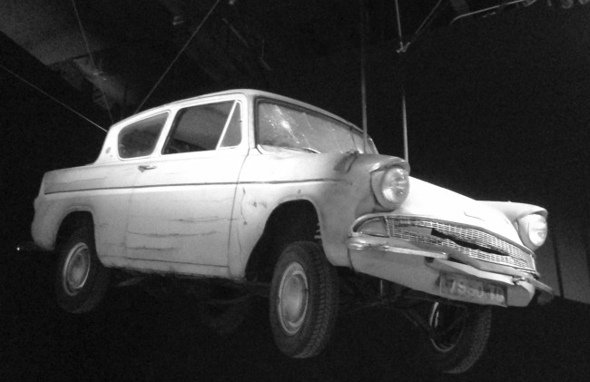Swiffer can keep your car clean, even if it is a flying car like this one!