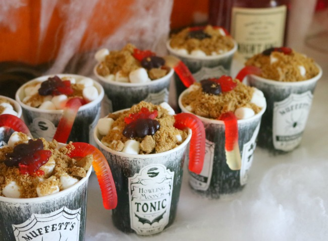 Halloween Smores Cups