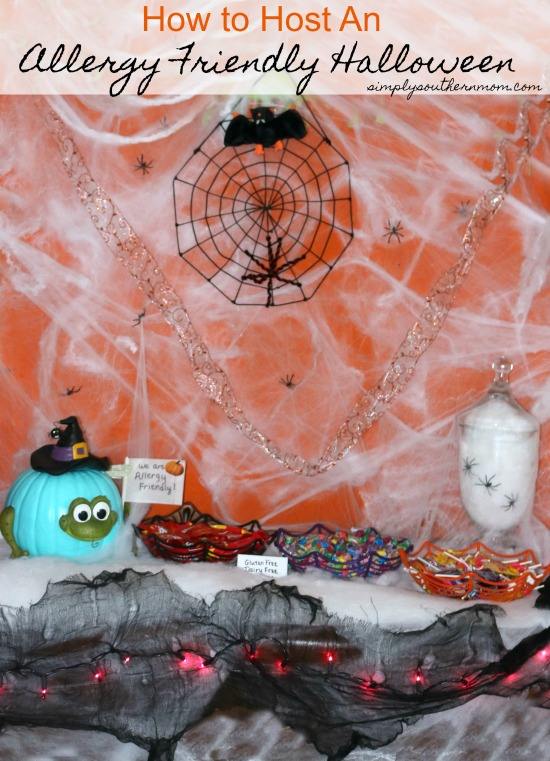How to Host An Allergy Friendly Halloween