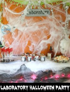 Halloween Laboratory Themed Party Ideas