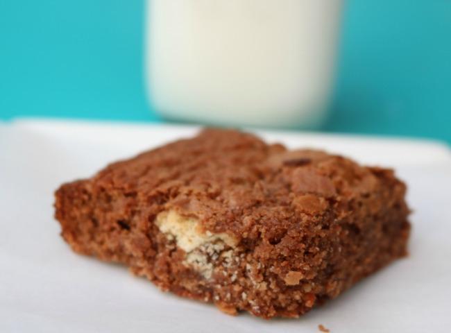 candy bar brownies recipe