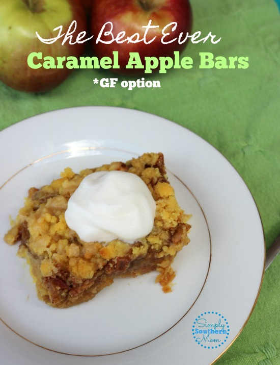 The Best Ever Caramel Apple Bars Recipe