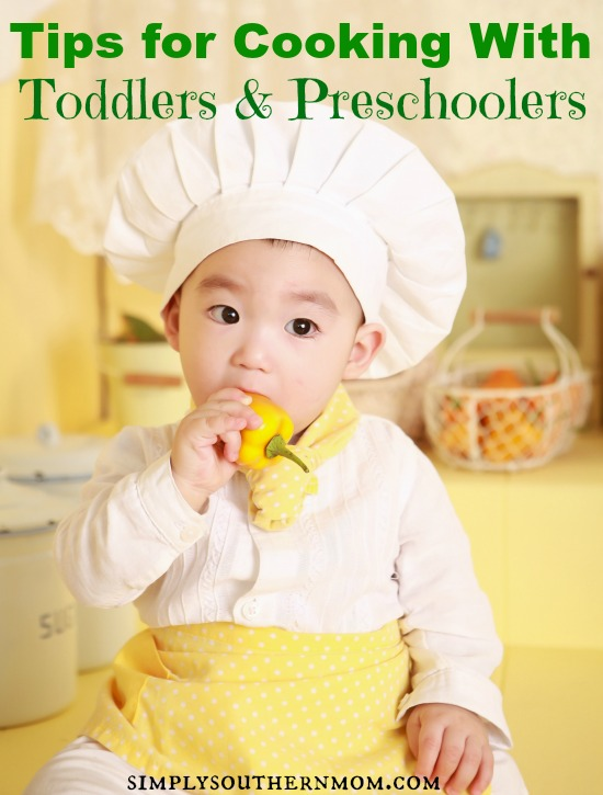 tips for cooking with toddlers and preschoolers
