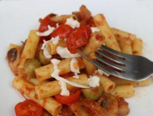 Easy Mediterranean Style Pasta Recipe