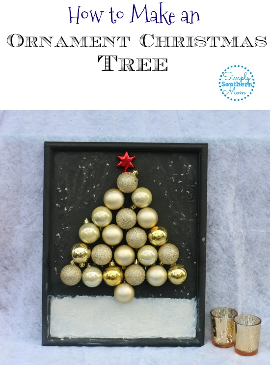 How To Make An Ornament Christmas Tree