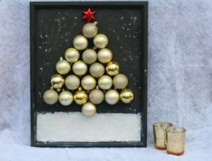 How To Make An Ornament Christmas Tree Picture