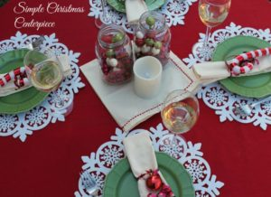 How to Make A Simple Christmas Tablescape