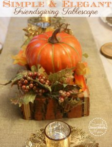 How to Make A Simple Friendsgiving Tablescape