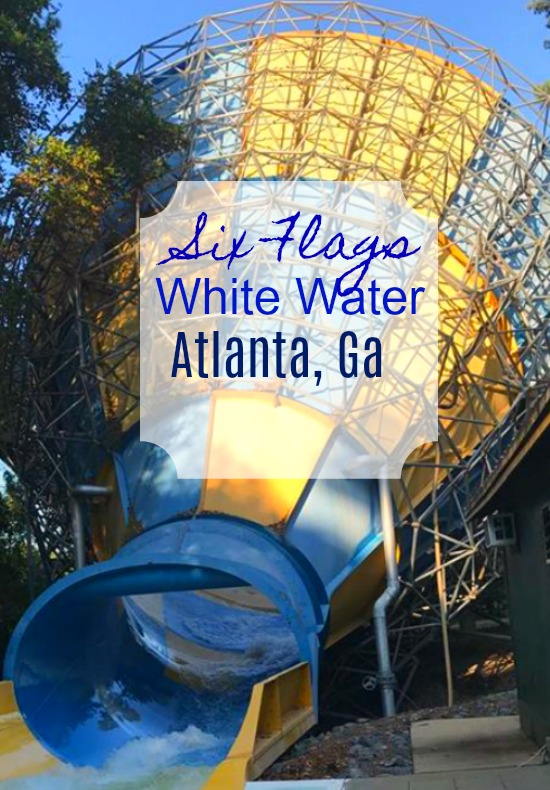 Six Flags White Water Pin