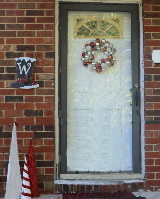 all opinions are my own - How To Decorate My Front Porch For Christmas