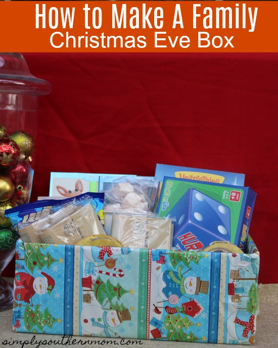 How To Make A Family Christmas Eve Box