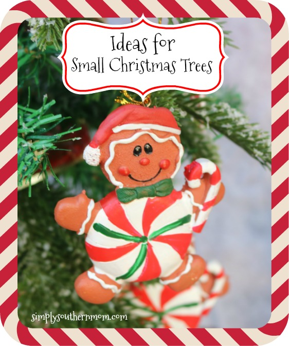 Awesome Small Christmas Tree Decorating Ideas , Simply