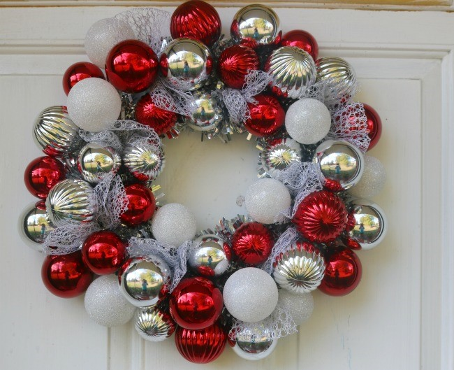 christmas wreath at home store