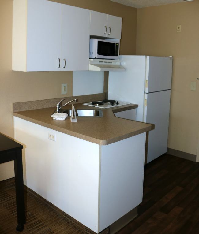 kitchen extended stay